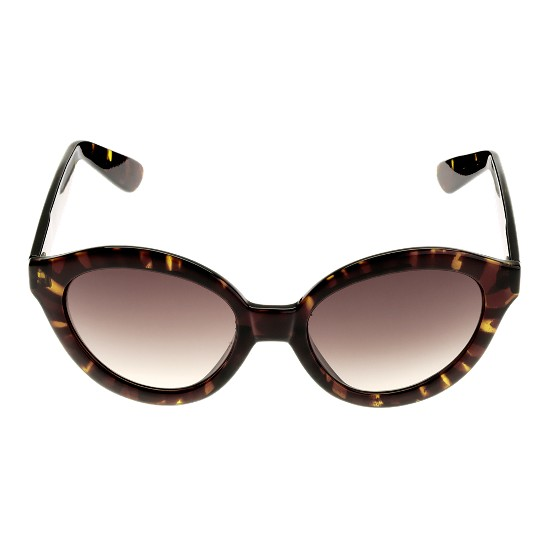 Cole Haan Glamour Oval w/Logo Sunglasses Tortoise Outlet Coupons