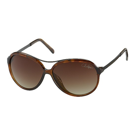 Cole Haan Plastic Aviator Lens Logo Sunglasses Tortoise Outlet Coupons