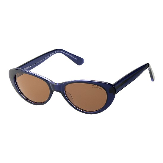 Cole Haan Handmade Acetate Cateye Sunglasses Navy/Crystal Outlet Coupons