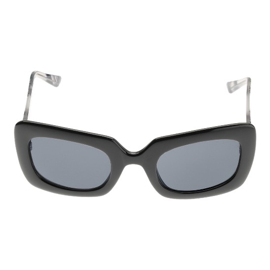 Cole Haan Bold Rectangle w/Logo Sunglasses Black Outlet Coupons
