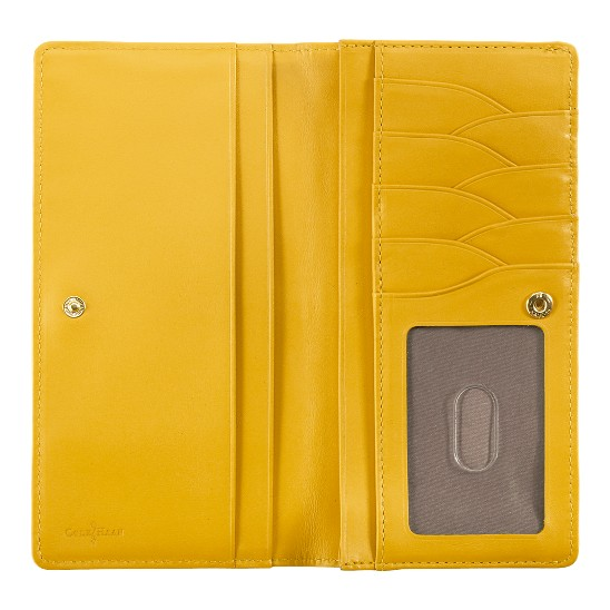 Cole Haan Village Slim Wallet Sunflower Outlet Coupons