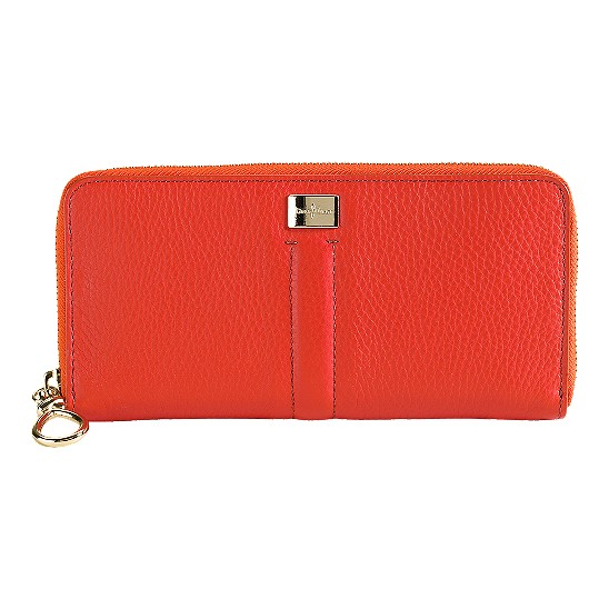 Cole Haan Village Travel Zip Wallet Spicy Orange Outlet Coupons