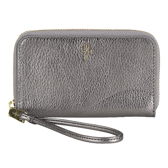 Cole Haan Jitney Electronic Wristlet Gunsmoke Outlet Coupons
