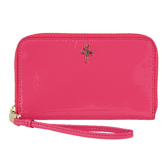 Cole Haan Jitney Electronic Wristlet Azalea Patent Outlet Coupons