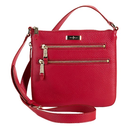 Cole Haan Village Sheila Crossbody Tango Red Outlet Coupons