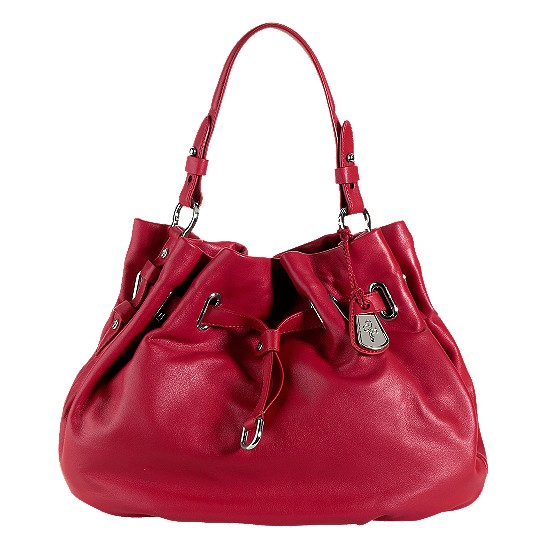 Cole Haan Cornelia Ellie Large Pouch Tango Red Outlet Coupons