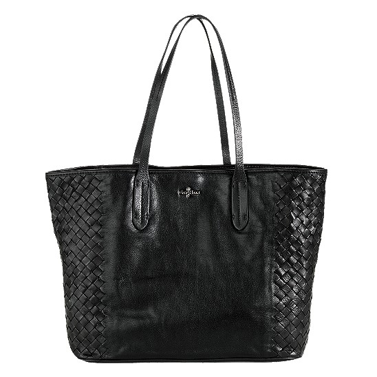 Cole Haan Victoria Leather Tote Black Outlet Coupons