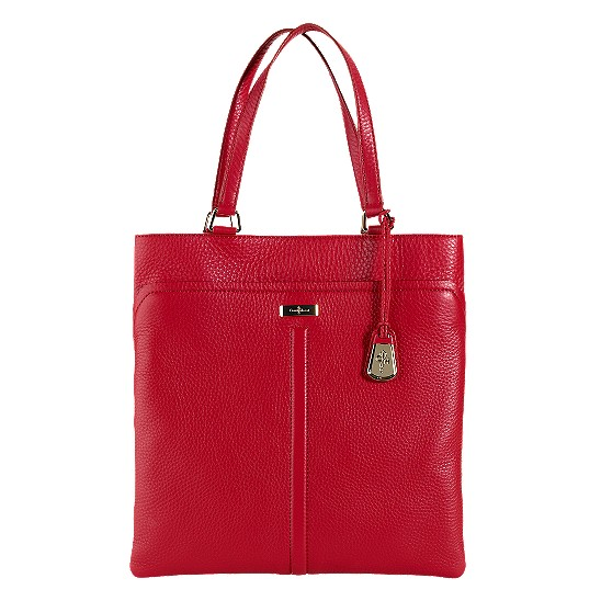 Cole Haan Village Marcy Market Tote Tango Red Outlet Coupons