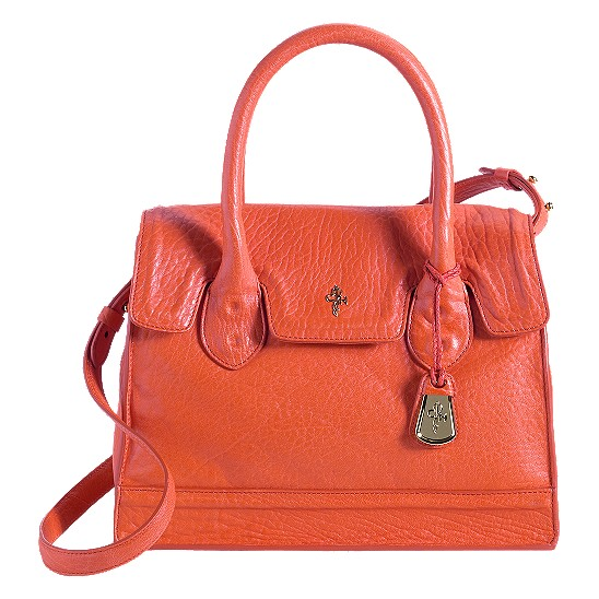 Cole Haan Brooke Small Flap Tote Spicy Orange Outlet Coupons