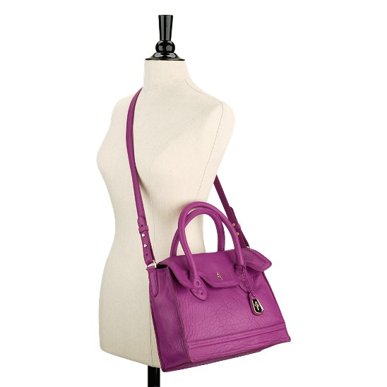 Cole Haan Brooke Brooke Small Flap Tote Beet Outlet Coupons