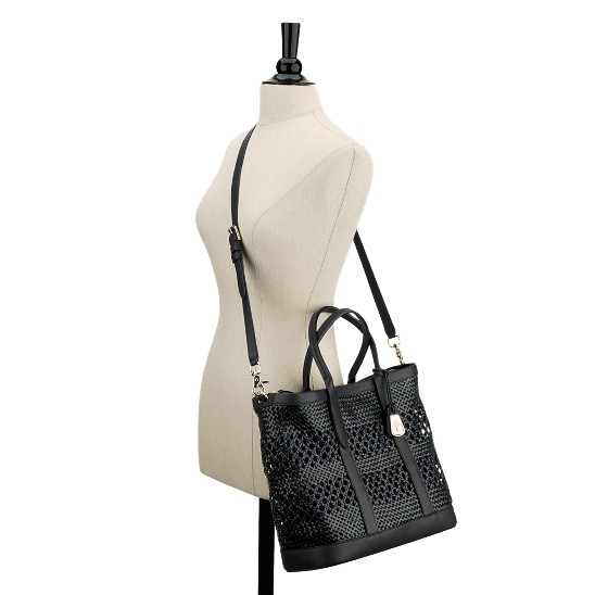 Cole Haan Bree City Tote Black/Pacific Outlet Coupons
