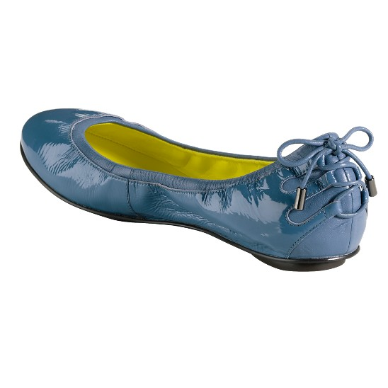 Cole Haan Air Bacara Ballet Harbour Blue Patent Outlet Coupons