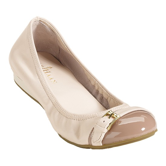 Cole Haan Air Reesa Buckle Ballet White Pine/Cove Outlet Coupons