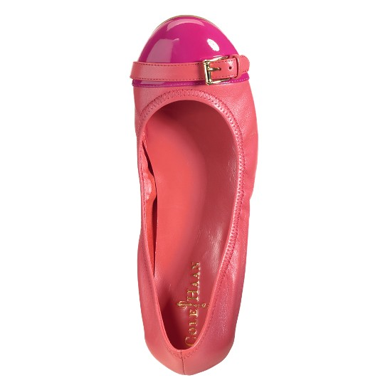 Cole Haan Air Reesa Buckle Ballet Shrimp/Beet Outlet Coupons