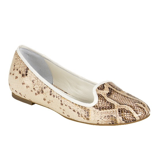 Cole Haan Air Morgan Slipper Ballet Cream Snake Print Outlet Coupons