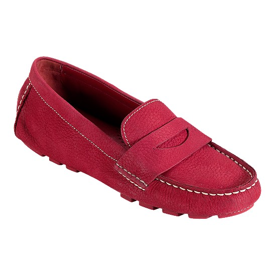 Cole Haan Air Sadie Driver Tango Red Nubuck Outlet Coupons