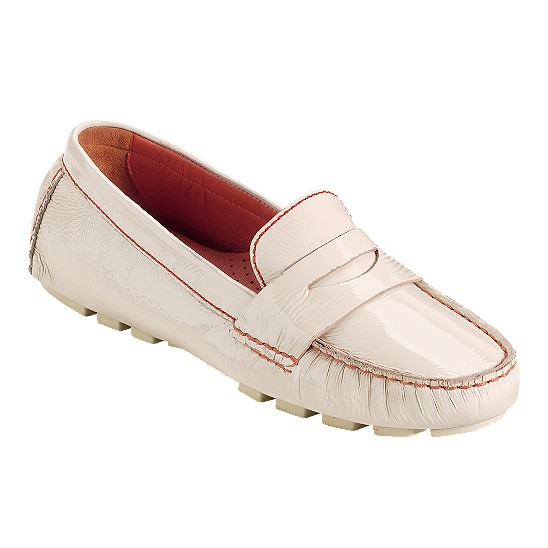 Cole Haan Air Sadie Driver White Pine Patent Outlet Coupons