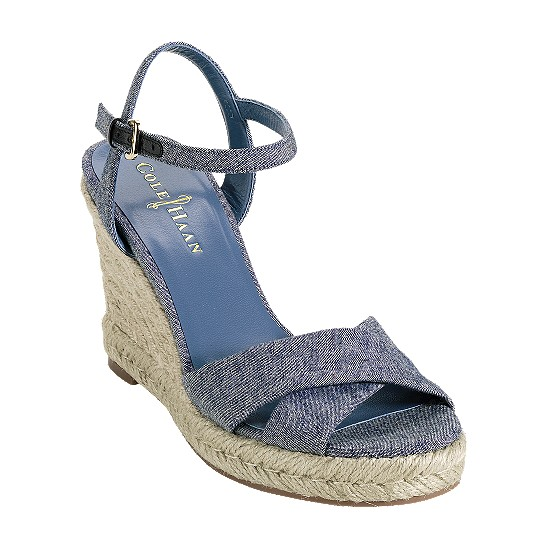 Cole Haan Air Camila Sandal 90 Light Denim Outlet Coupons