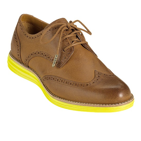Cole Haan LunarGrand Wingtip Smokethorn Outlet Coupons