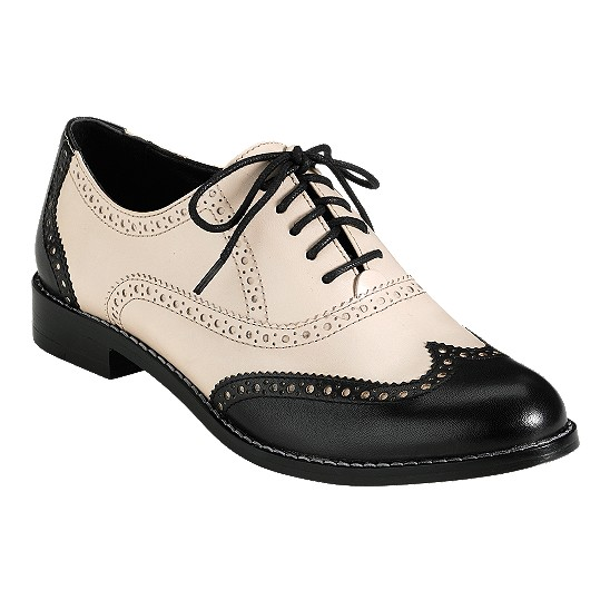 Cole Haan Skylar Oxford White Pine/Black Outlet Coupons