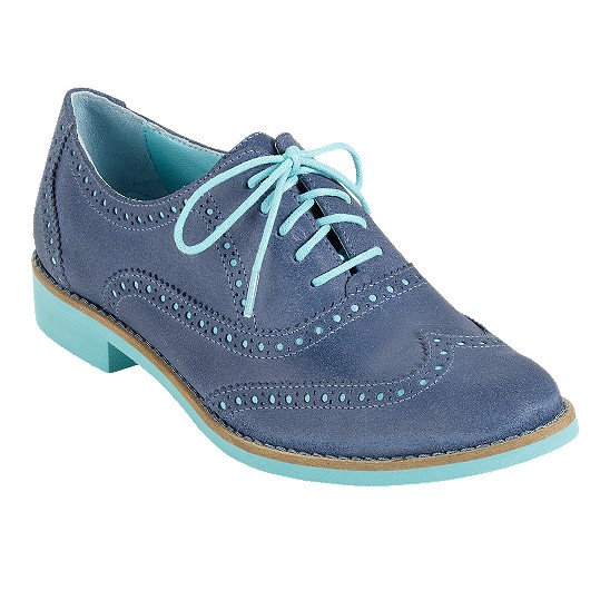 Cole Haan Alisa Oxford Harbour Blue/Candy Floss Outlet Coupons