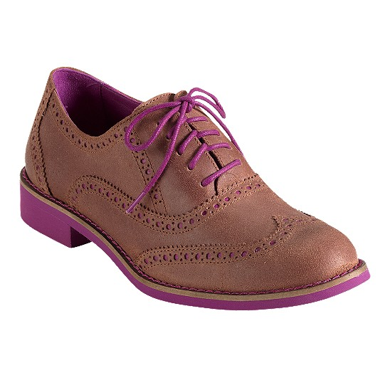 Cole Haan Alisa Oxford Chestnut/Beet Outlet Coupons