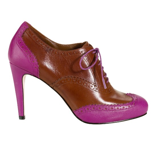Cole Haan Lucinda Air Oxford Pump Beet/Sequoia Outlet Coupons