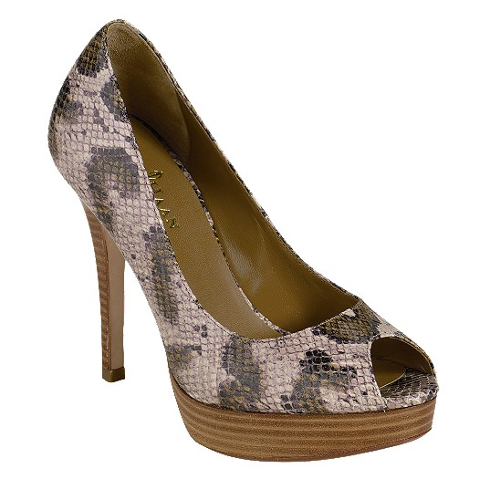 Cole Haan Mariela Air Open Toe Pump Wetlands Snake Print Outlet Coupons