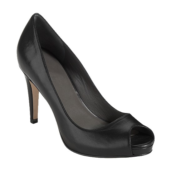 Cole Haan Violet Air Open Toe Pump Black Outlet Coupons
