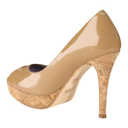 Cole Haan Mariela Air Open Toe Pump Sandalwood/Cork Outlet Coupons