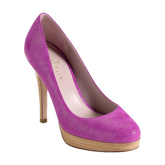 Cole Haan Mariela Air Pump Beet Exotic Print Outlet Coupons