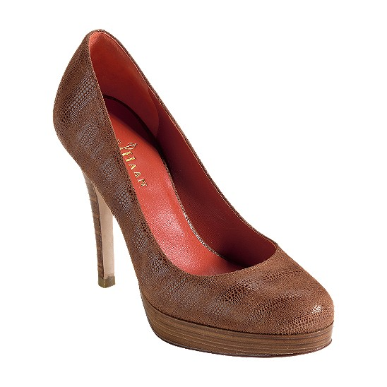 Cole Haan Mariela Air Pump Chestnut Exotic Print Outlet Coupons