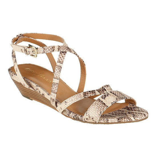 Cole Haan Air Kierin Sandal Cream Snake Print Outlet Coupons