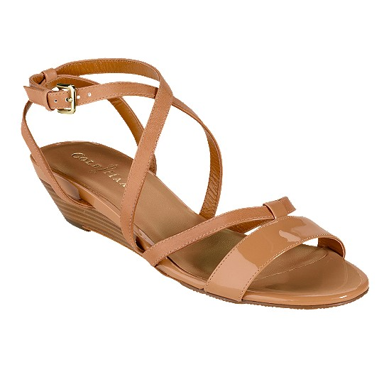 Cole Haan Air Kierin Sandal Birch/Birch Patent Outlet Coupons