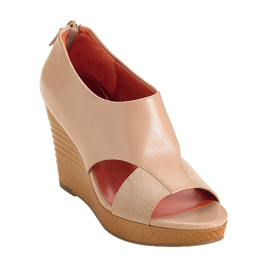 Cole Haan Air Donella Open Toe Bootie Beige Outlet Coupons