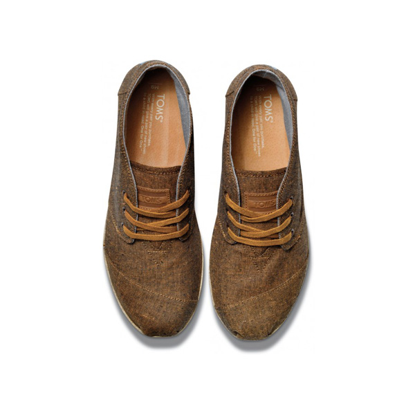Toms Burnt Rust Chambray Men Desert Botas Outlet Coupons