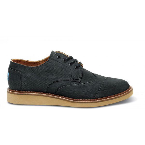 Toms Ash Aviator Twill Men Brogues Outlet Coupons