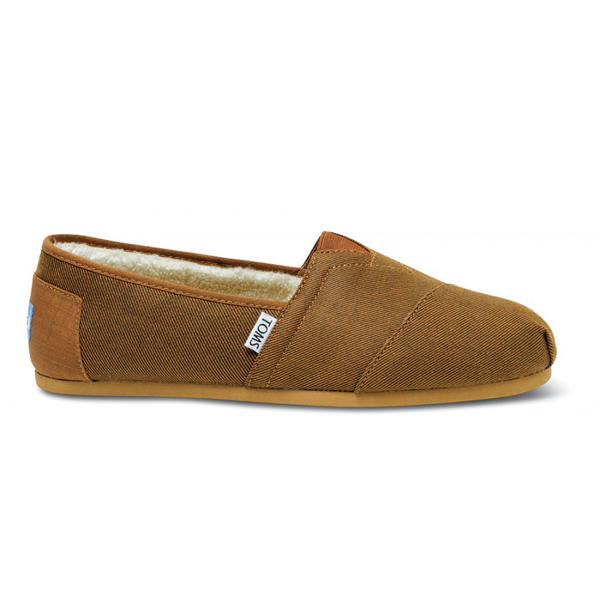 Toms Rust Aviator Twill Men Classics Outlet Coupons