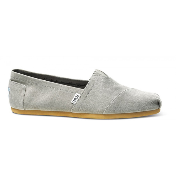 Toms Earthwise Grey Men Classics Outlet Coupons