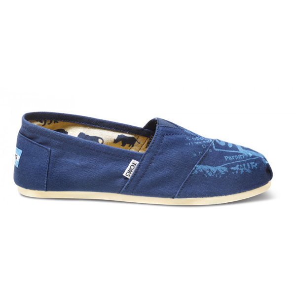 Toms Sub Pop Navy Men Classics Outlet Coupons
