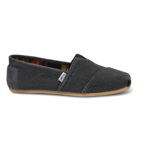Toms Black Farrin Men Vegan Classics Outlet Coupons