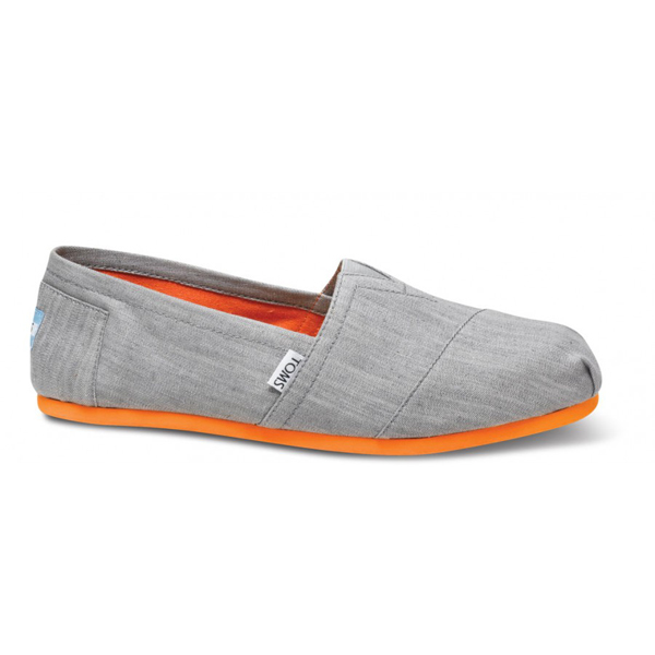 Toms Grey Denim Pop Men Classics Outlet Coupons