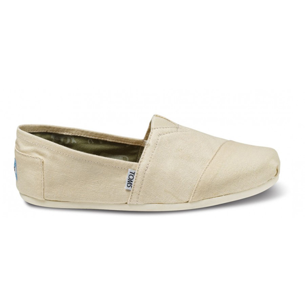 Toms Natural Canvas Men Classics Outlet Coupons
