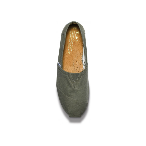 Toms Olive Canvas Men Classics Outlet Coupons