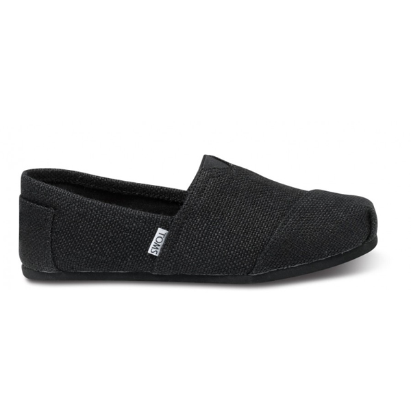 Toms Black Burlap Men Classics Outlet Coupons