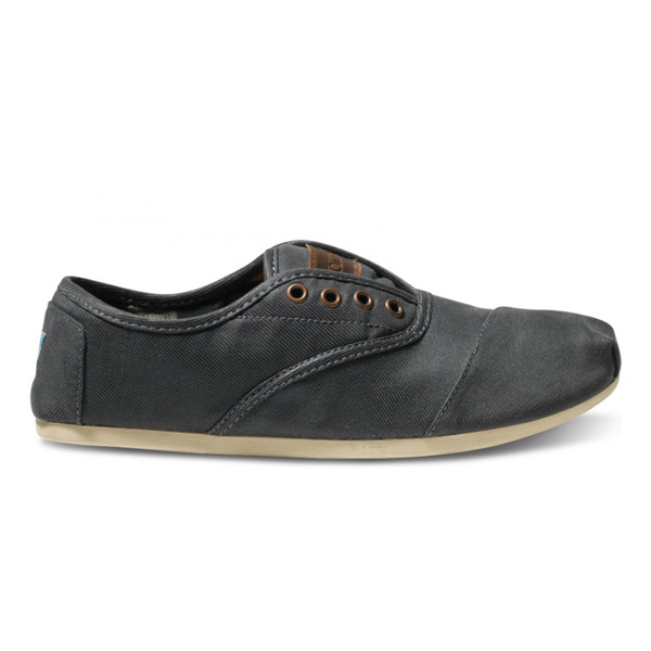 Toms Ash Waxed Twill Men Cordones Outlet Coupons