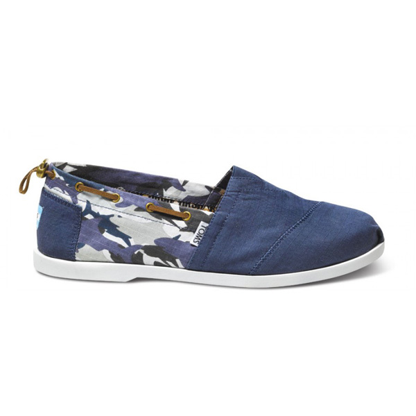 Toms Discovery Shark Camo Men Nautical Biminis Outlet Coupons