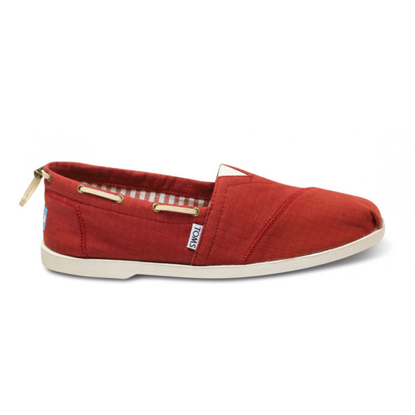 Toms Red Nautical Men Biminis Outlet Coupons