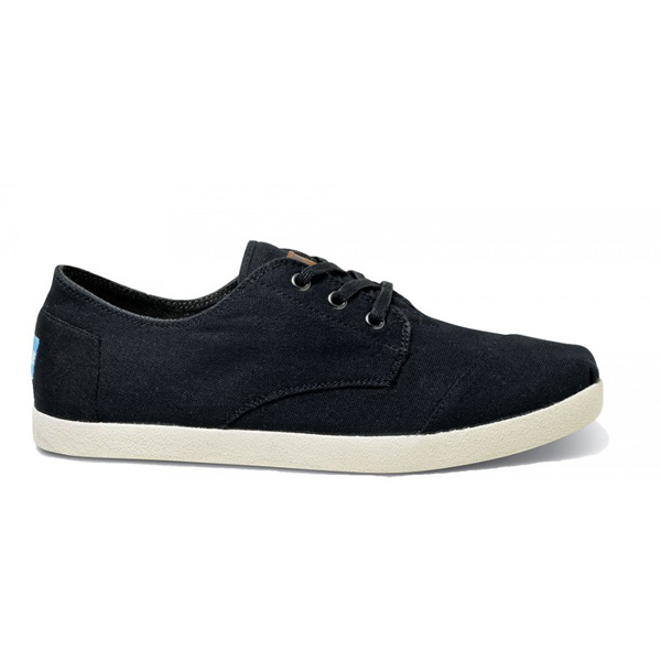 Toms Black Canvas Men Paseos Outlet Coupons