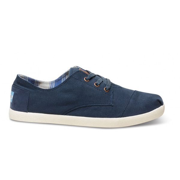 Toms Navy Canvas Men Paseos Outlet Coupons